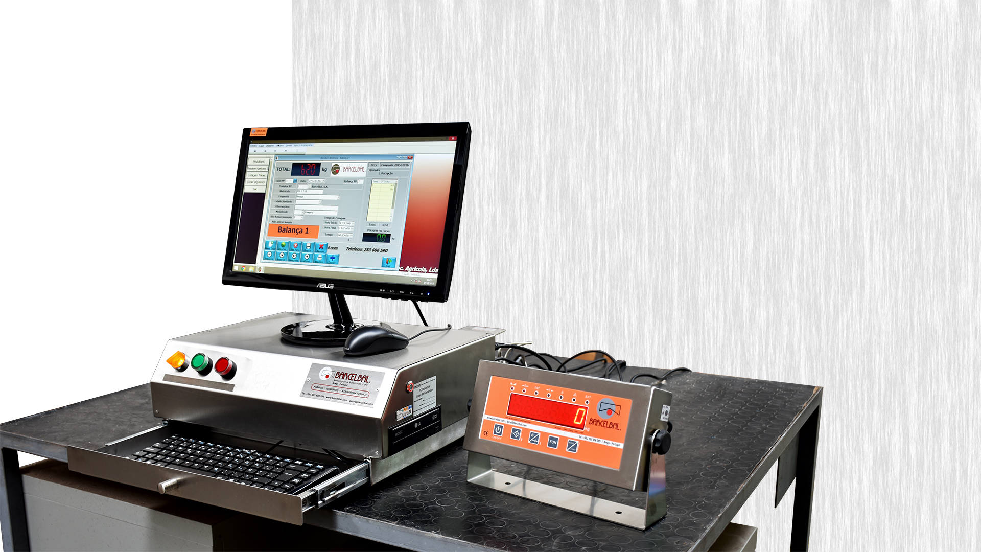 Módulo PC Industrial em Aço Inox