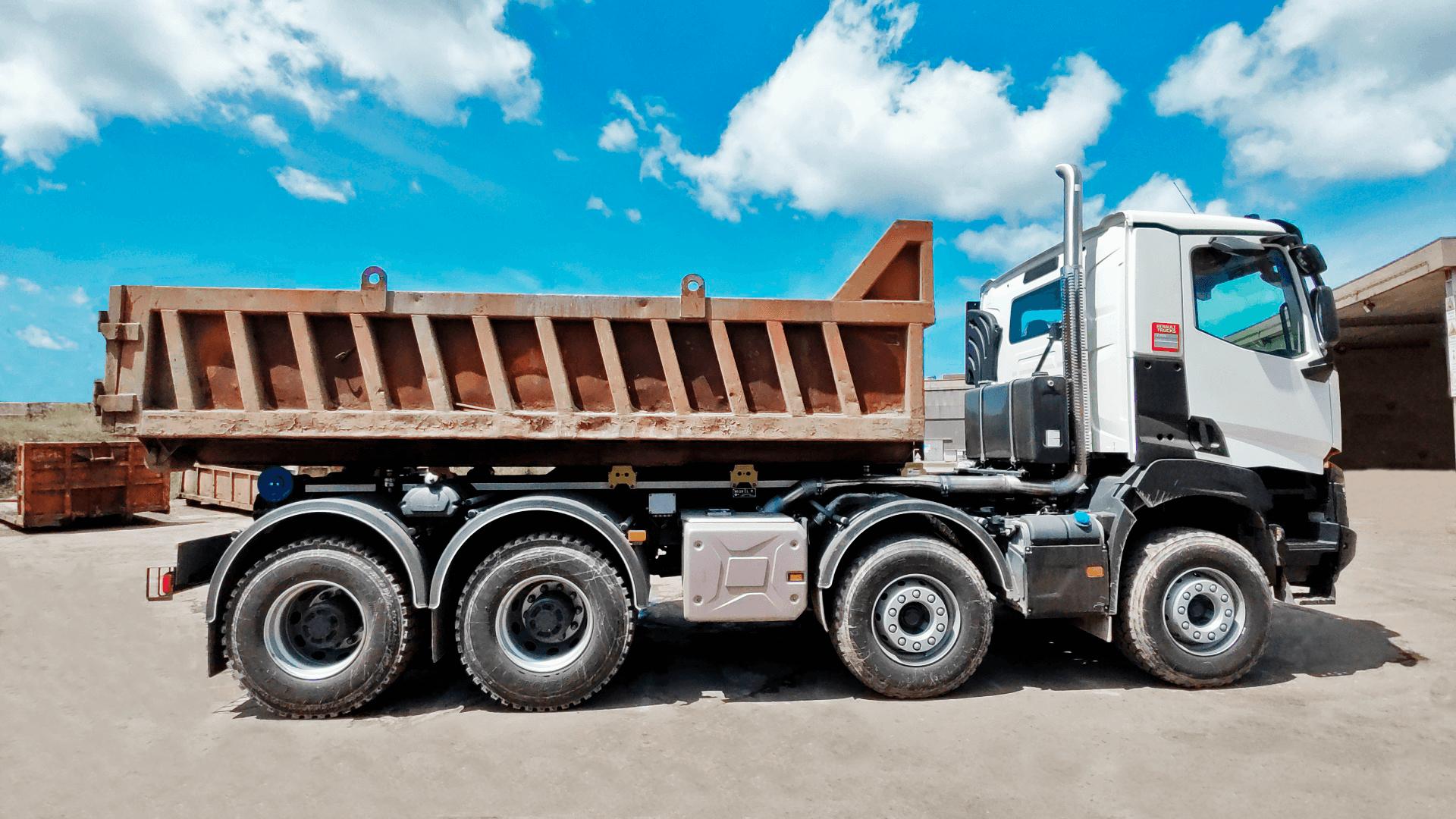 Sistema de Pesagem Camiões com Sensores de Carga
